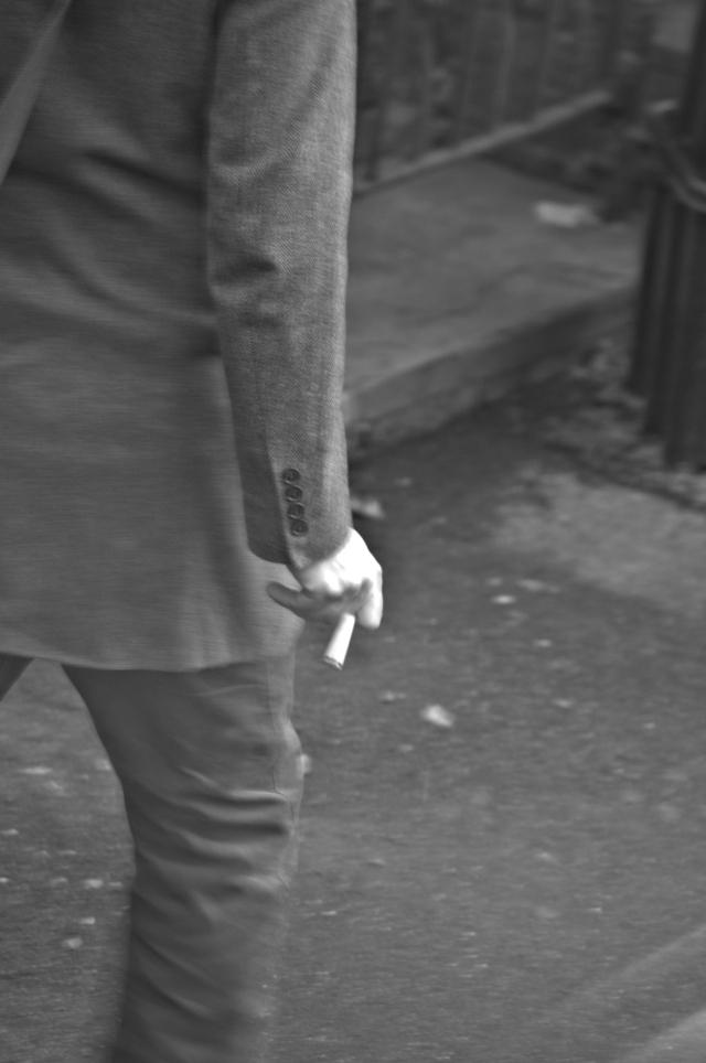 Bad Art and a Cigarette